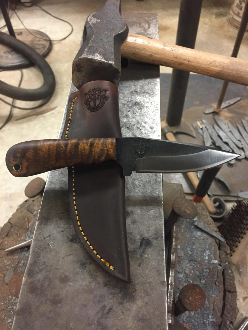 Bladesmith Therapy – Need an Outlet and Someone to Talk to?